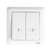 LS V5 2 gang autogate switch 10a