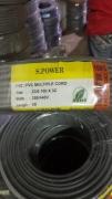 S-Power flexible cable (23/0.16, 40/0.16, 40/0.193, 70/0.193 3core )