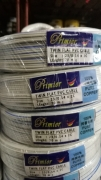 Primier twin flat pvc cable 23/0.14mm x2c 70m