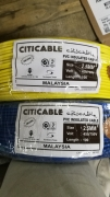Citi pvc cable (1.5mm,2.5mm)