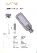 Aurore 200w led street light