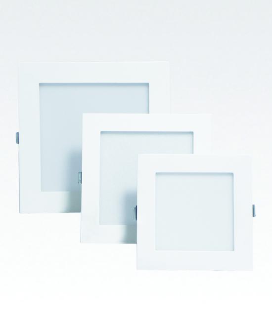 Hazzle Led downlight – square 4″ 12w /6″ 18w/8″ 18w