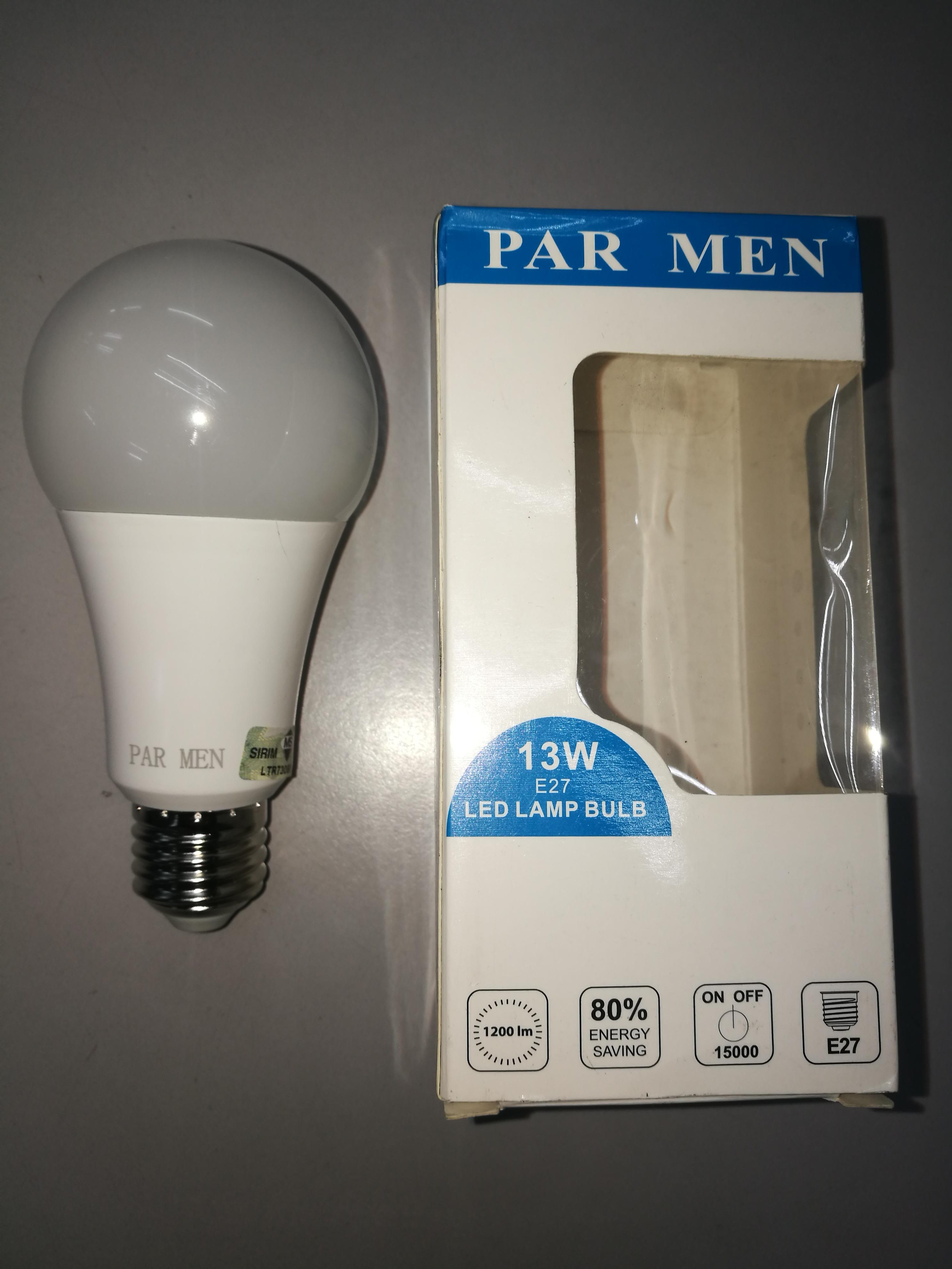 Par Men 13wn led bulb