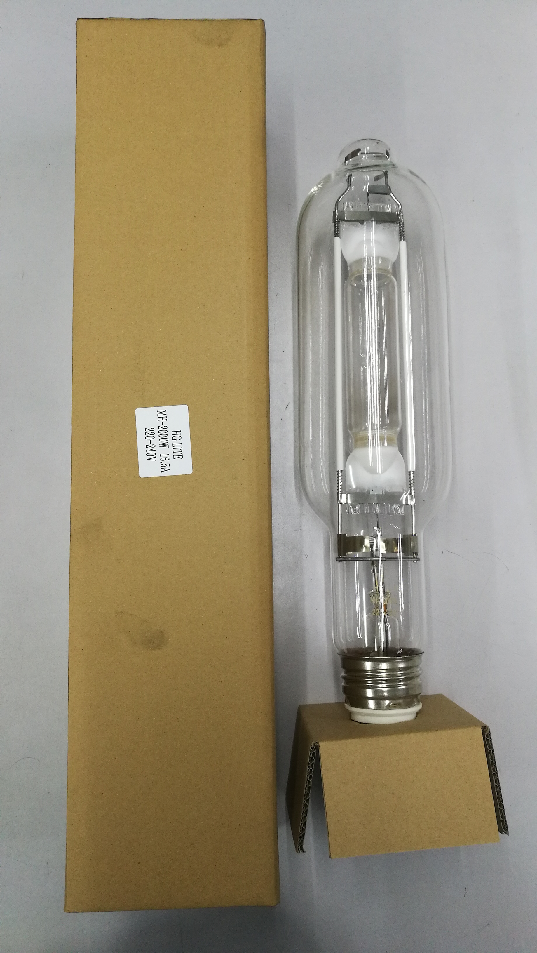 Hg-lite mh-2000w e40 16.5A metal halide bulb