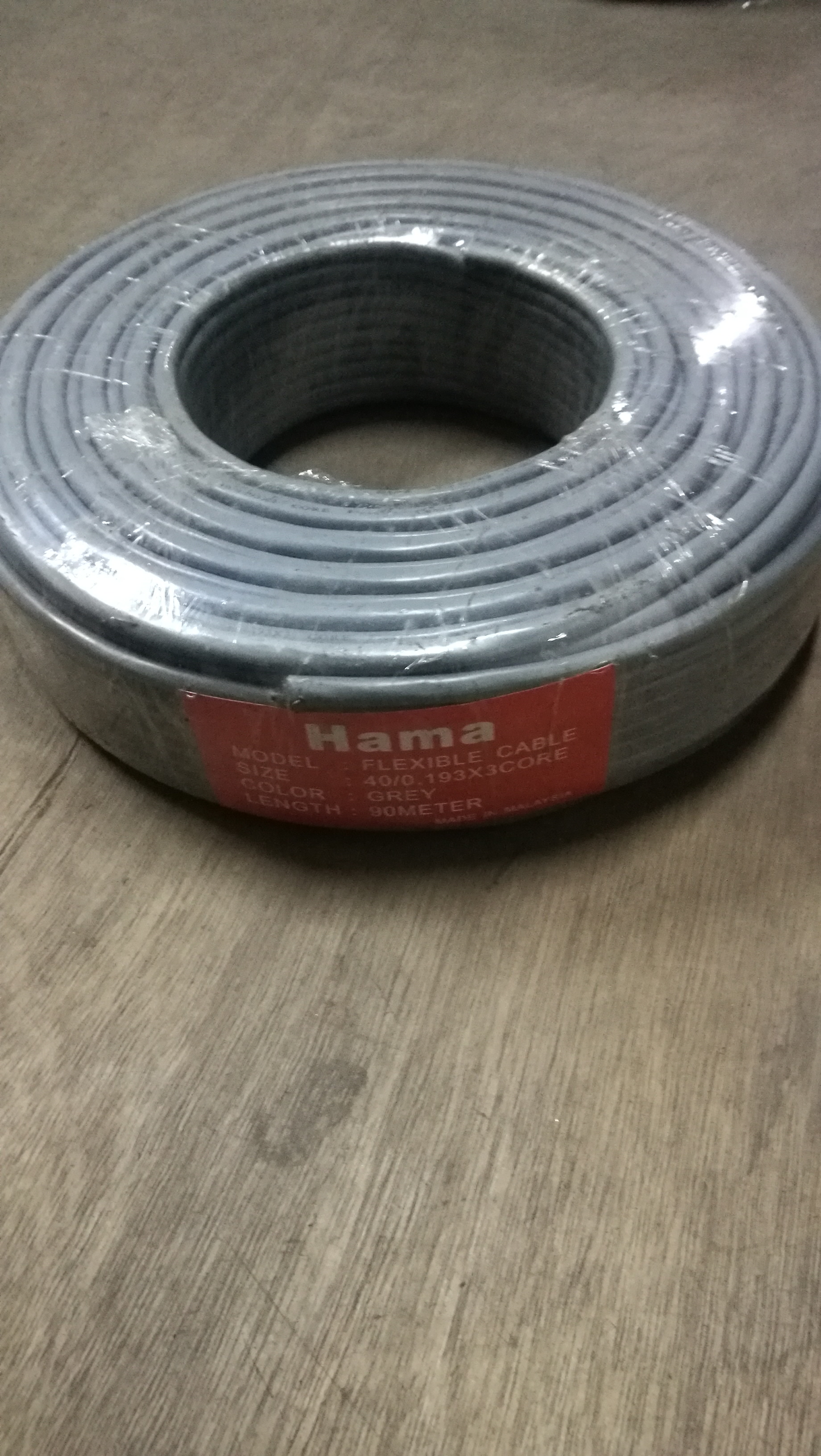 Hama flexible cable (23/0.16, 40/0.16, 40/0.193, 70/0.193, 110/0.193, 160/0.193 3core and 4core)