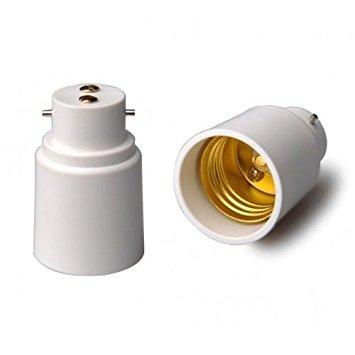 b22 to e27 socket converter
