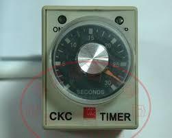 Ckc single range analogue timer
