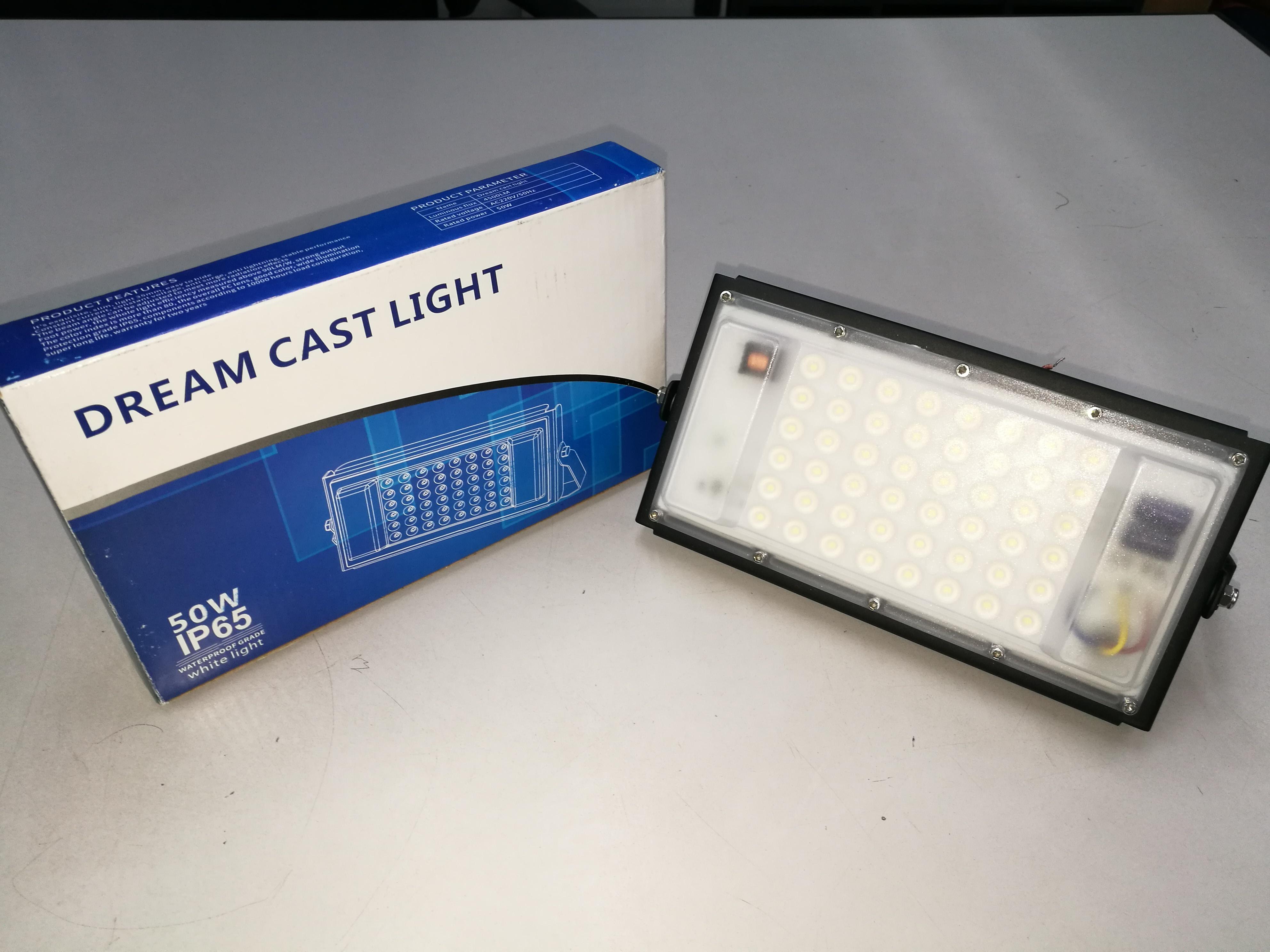Dream cast light 50w led flood light