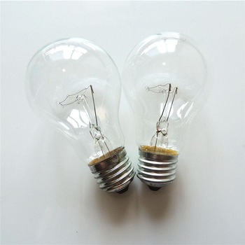 FFL Clear bulb A60 40W/60W/100W E27