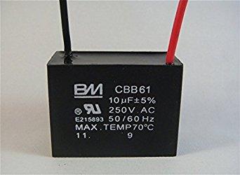 Fan capasitor (square)